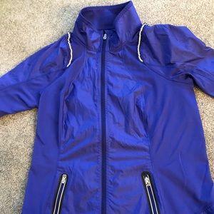 lululemon size 6 blue jacket